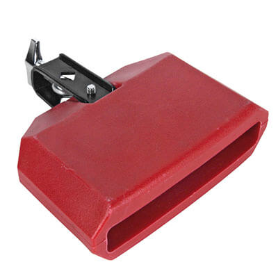 Temple Block Plastico Rojo 04341 15X10X5. Rojo