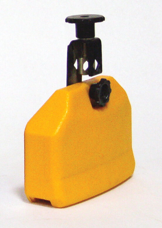 Temple Block Plastico Naranja Db0735 Rect. 16X10X5