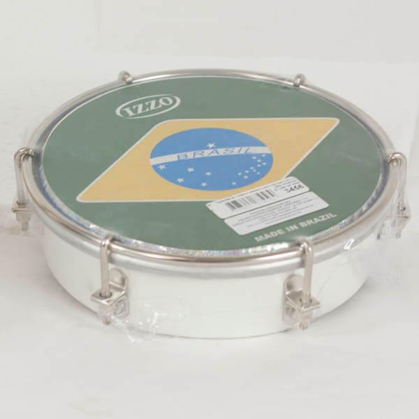 Tamborim   6 Madera P/Brasil Izzo Iz3456. Blanco