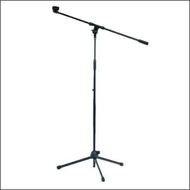 Micphone Stand Mics-103D. Negro