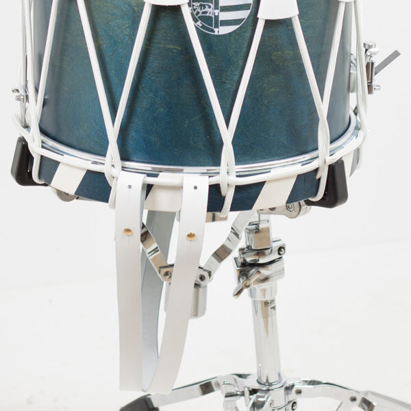 Correa Piel Trommel Drum  734. Blanco