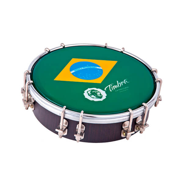 Tamborim 6 Madera P/Brasil Timbra  Ti8671. Standard