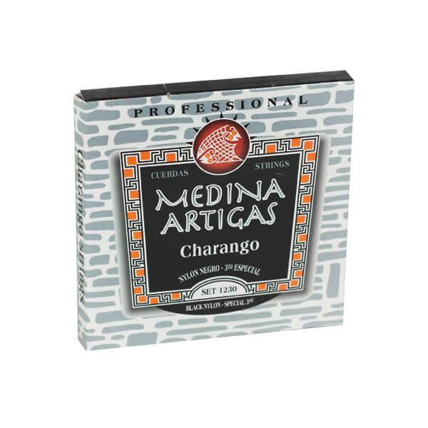 Juego Cuerdas Charango Nylon 1230 Medina Artigas. Standard