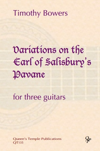Variations On The Earl Of Salisbury S Pa