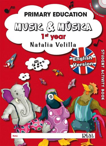 Music & Musica, 1rd year, Student English Version +DVD