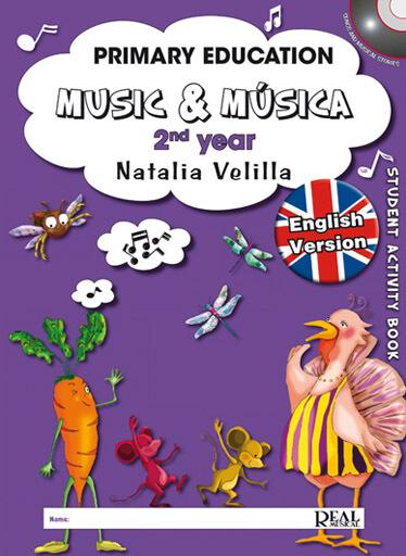 Music & Musica, 2rd year, Student English Version +DVD