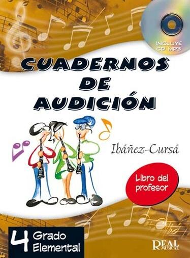 Cuadernos De Audición Vol. 4: Profesor
