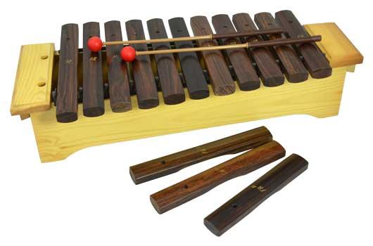 Xilófono Soprano Diatónico Samba 332 Do2-Fa3