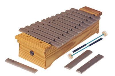 Metalófono Soprano Diatónico Samba 360 Do2-Fa3