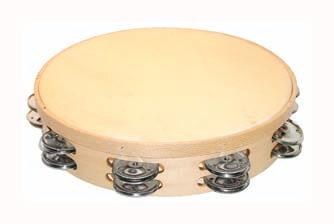 Pandereta Doble Samba 481 30Cm