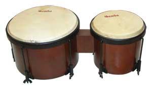 Bongo Samba 536 Nogal Parche Piel