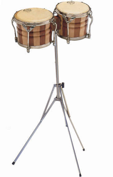Bongo Profesional Samba 538 Parche Piel