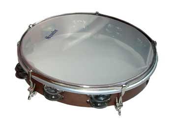 Pandereta Doble Samba 588 30,5Cm