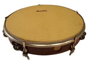 Pandereta Doble Samba 595 40,6Cm