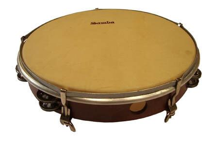 Pandereta Doble Samba 599 50Cm