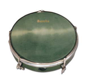 Pandero Con Tensores Samba 770G 20,3Cm Verde