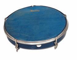 Pandero Con Tensores Samba 770B 20,3Cm Azul
