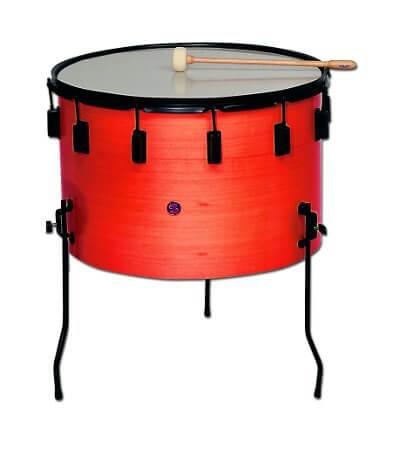 Timbal Escolar Samba 970R 35X22Cm Rojo