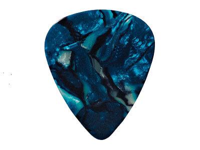 Púa Nacarina Samba 3055 1 Nº10 Azul Ovalada