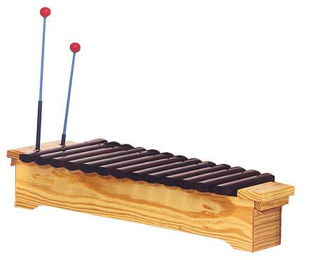 Xilófono Soprano Diatónico Samba 3321 Do2-La3