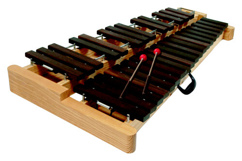 Xilófono Semiprofesional Samba 3401 2 1/2 Oct.