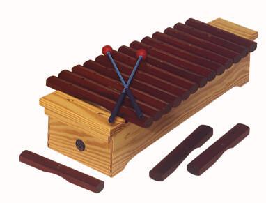 Xilófono Soprano Diatónico Samba 3421 Do2-La3