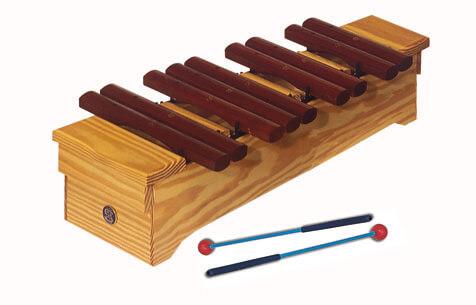Xilófono Soprano Parte Cormática Samba 3423 Do2#-Sol3#