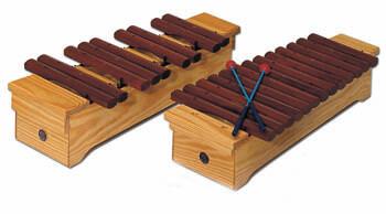 Xilófono Soprano Cromático Samba 3424 Do2-La3