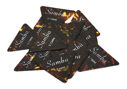 Set 12 Púas Samba 3511 0,50 Imitación Concha