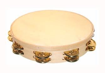 Pandereta Sencilla Samba 4811 30Cm