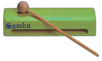 Caja China Plana Samba 6021G Verde