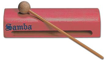 Caja China Plana Samba 6021R Roja