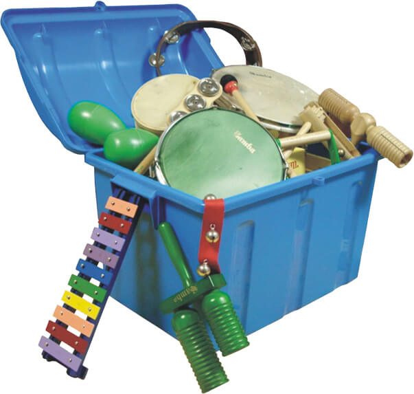 Set Instrumentos Samba 6505 62X62X29