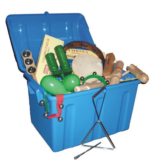 Set Instrumentos Samba 6506 62X62X29