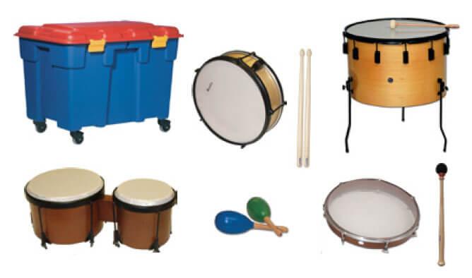 Set Instrumentos Samba 6515