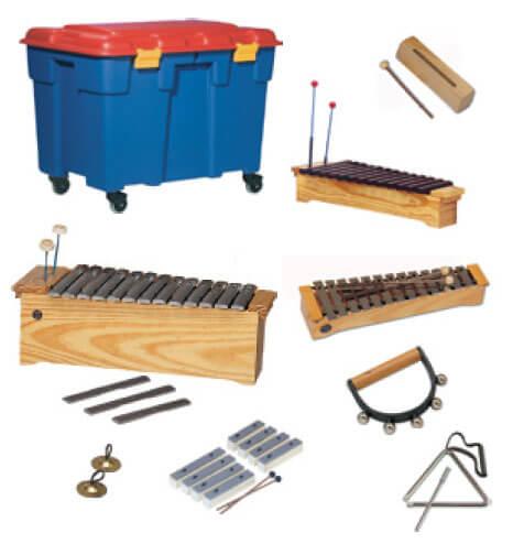 Set Instrumentos Samba 6516