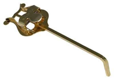 Atril Marcha Trompeta Samba 9111 Dorado