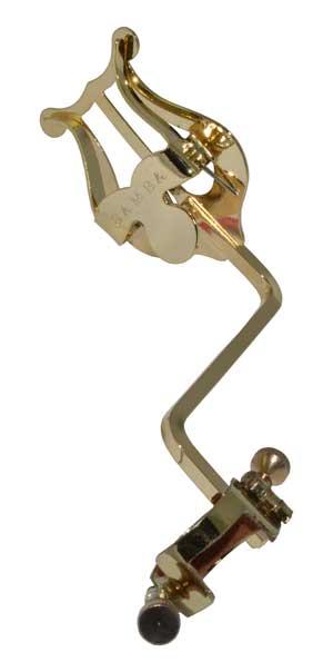 Atril Marcha Saxofón Alto Samba 9185 Pequeño Dorado