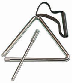 Triángulo Samba 9251 15Cm