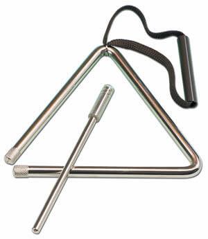Triángulo Samba 9221 12Cm