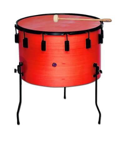 Timbal Escolar Samba 9702R 35X22Cm Rojo