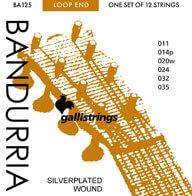 Jgo.Cuerdas Bandurria Galli Strings Ba125