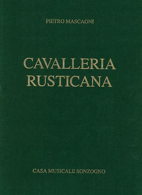 Cavalleria Rusticana vocal score  .Mascagni