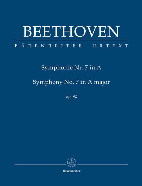 Symphony No. 7 A major Op.92. Beethoven. Study Score