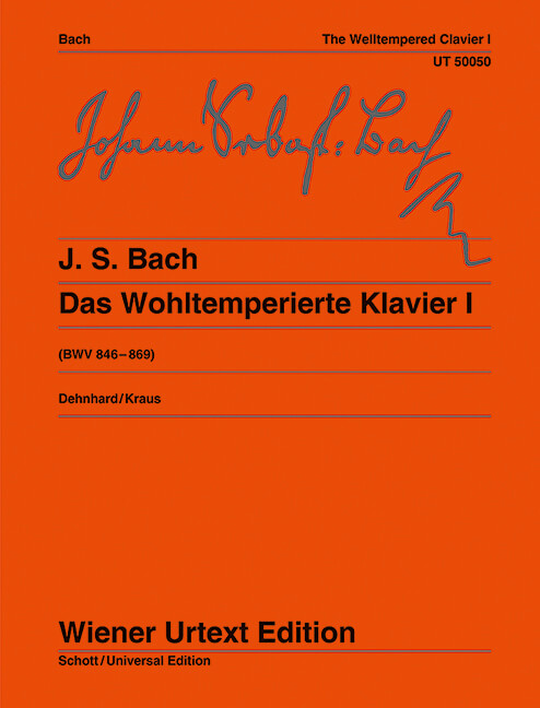 The Well Tempered Clavier BWV846-BWV869 Teil I Piano .Bach