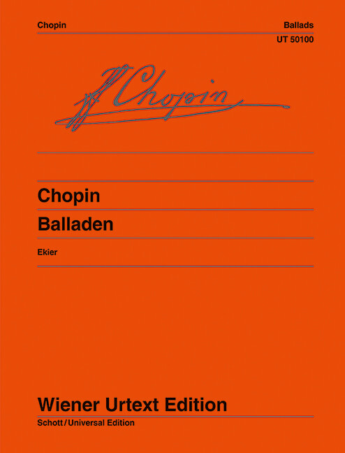 Ballades Piano .Chopin