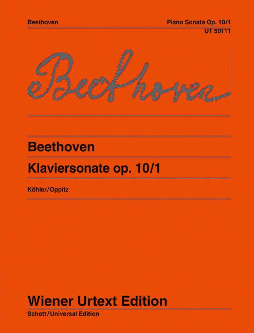 Piano Sonatas op. 10/1