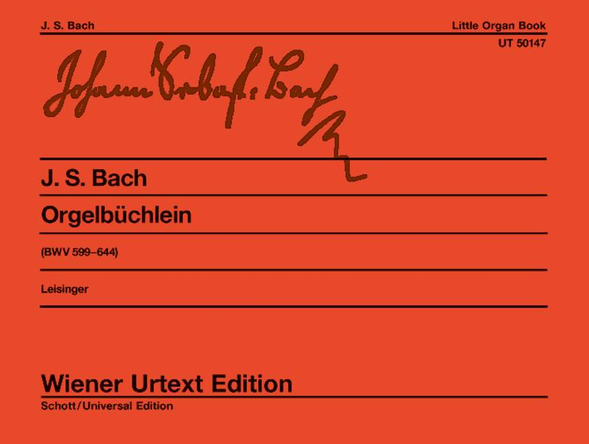 Little Organ Book BWV 599-644 .Bach,J.S