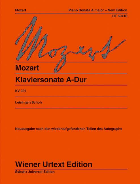 Piano Sonata in A Major KV 331-Mozart