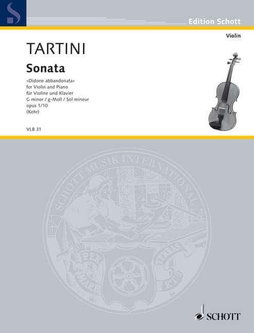 Sonata G Minor op. 1/10. Didone abbandonata